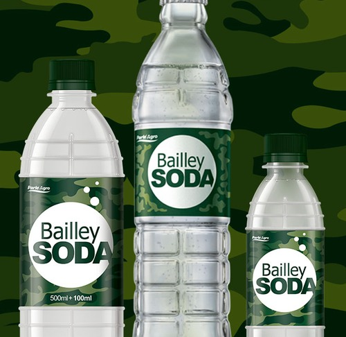 Bailley Soda Bottle