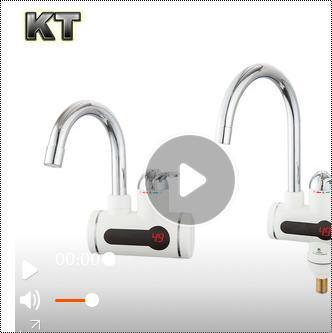 Digital Deck Mounted Instant Water Heater Kitchen Tap
