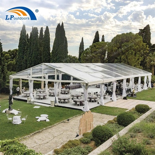 15m Transparent Tent Party Outdoor Clear Roof Wedding Tent