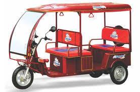4 Seater Electric Rickshaw