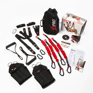 4D Pro Bungee Workout Reaction Trainer Cords