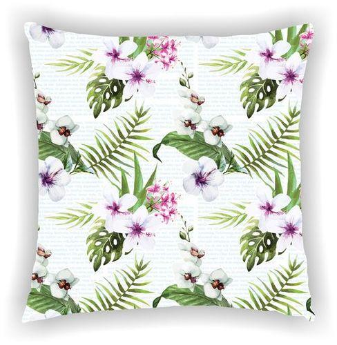 Digital Printed Floral Multi Leaves Designs Cushion Cover