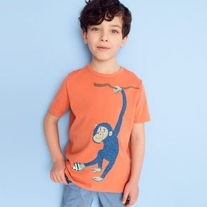 Kids Smooth Touch Finish T-Shirt