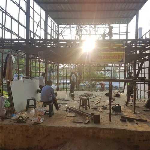 Railway Food Plaza Steel Structure