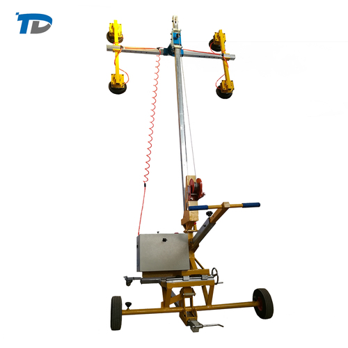 Glass Vacuum Lifter Glass Handing Machine For Lift Glass/Assemble Glass/Install Glass With Rotation Function
