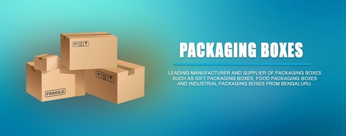 Industrial Plain Packaging Boxes