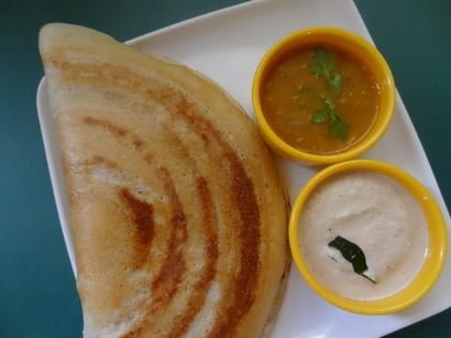 Precisely Processed Dry Dosa