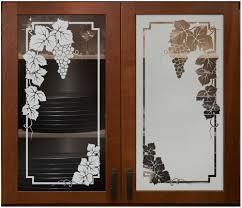 Fine Finish Glass Door