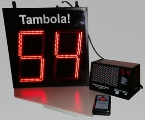 Tambola Automatic Electronic Number Display