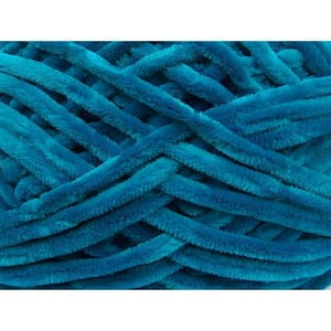 Micro Polyester Dyed Chenille Yarn