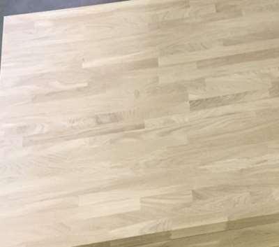 Oak Solid Wooden Edge Glued Panel As Step Board