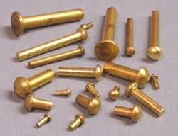 Round Head Brass Rivets