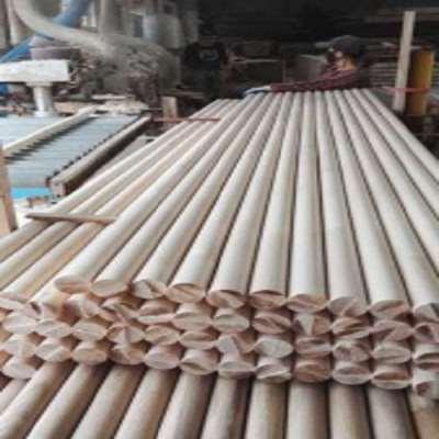 Light Steam Beech Wood Finger Joint Panel For Stair Newel