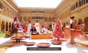 Rajasthani Dance Troupe Services