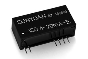 2-Wire Passive 4-20mA Loop Power Isolation Converter