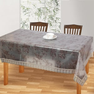Transparent Square Table Cover
