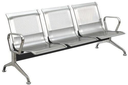 Steel Waiting Bench