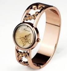 Fashionable Round Shape Ladies Watches