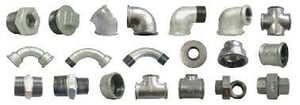 Malleable Galvanized Iron Pipe Fittings