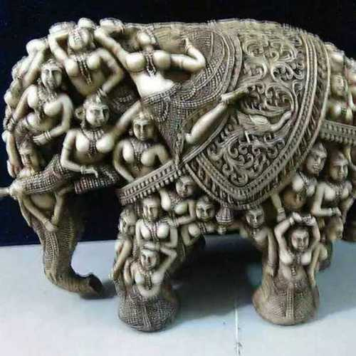 Antique Camel Bone Puttly Elephant Statue At Best Price In Bilara Rajasthan Laxminatham Handicraft
