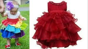 Custom Color Frills Baby Frock