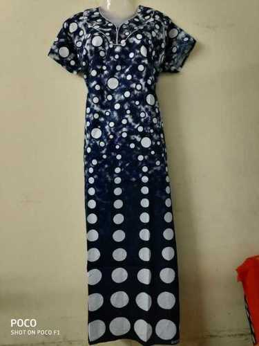 f6c7b7b8f2 Ladies Balotra Print Readymade Night Gown - Fashion Passion Store,  INDUSTRIAL AREA, 2nd Phase, Street 10, Kher Road, , Balotra, India