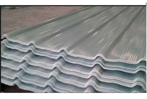 Corrugated Fibre Glass Sheet At Best Price In Ahmedabad Gujarat Intec Frp Products