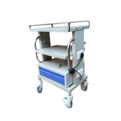 Color Coated Stainless Steel Trolley