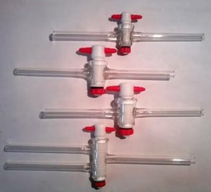 PTFE Stopcock For Laboratory Use