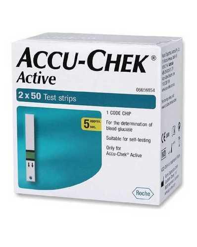 Accu Check Active Glucometers