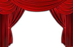 Inaugural Red Curtain