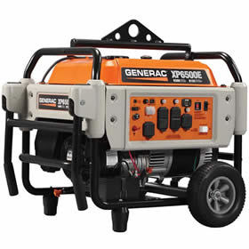 XP6500E - 6500 Watt Electric Start Professional Portable Generator (Generac)