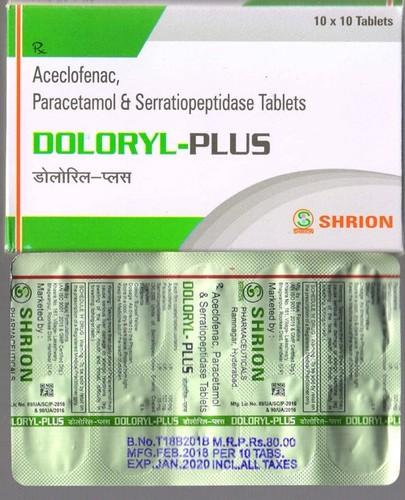 Doloryl Plus Tablet