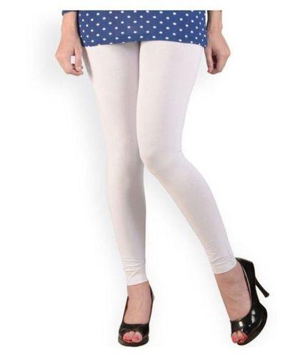 Cotton Plain Ladies Leggings