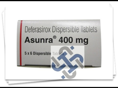 Deferasirox 400mg ASUNRA TABLETS