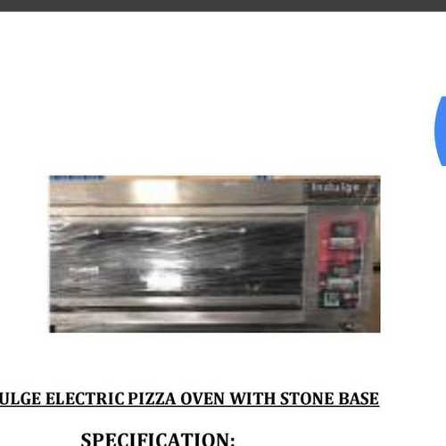 Electric Stone Base Pizza Oven