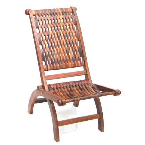 Mesh Design Wooden Chair
