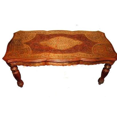 Solid Wooden Center Table