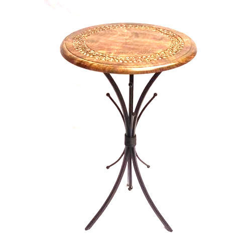 Wooden Small Round Table