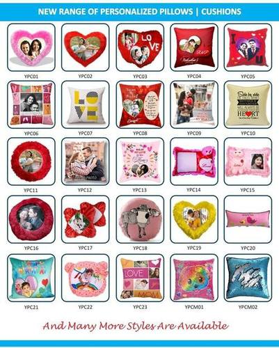 Personalized Type Cushion Covers