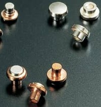 Reliable Silver Contact Rivet