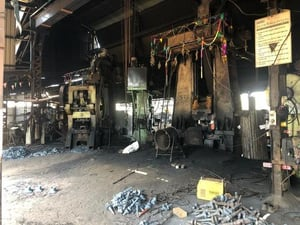 Running Condition Closed Die Forging Plant