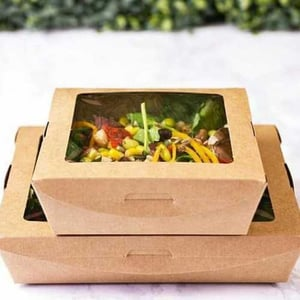 Window Compostable Lunch Boxes
