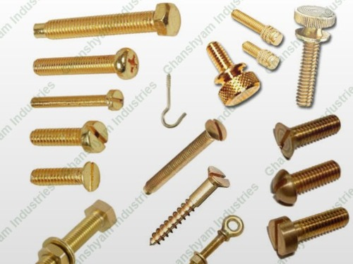 Brass Screw And Bolt