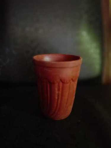 Natural Terracotta Clay Glass