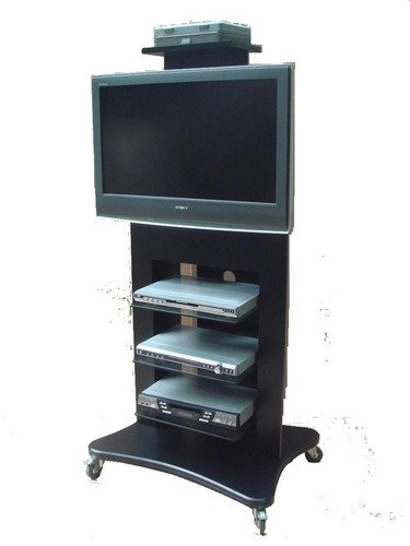 """Wooden Vc Tv Trolley For 32"""" - 55"""" Certifications: Iso Certified Co. 9001:2015"""