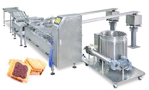 Biscuit Sandwich Machine With Stacker