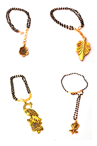 Mangalsutra Bracelet With Charms