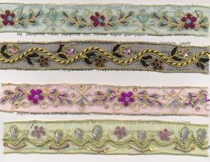 Indian Hand Embroidered Trims