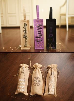 Top Quality Wine Gift Bags